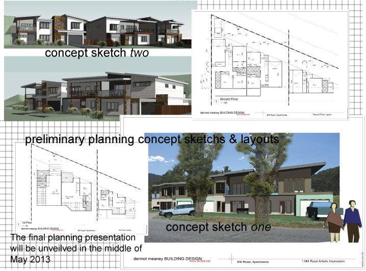 town planning presentation building design by dermot meaney